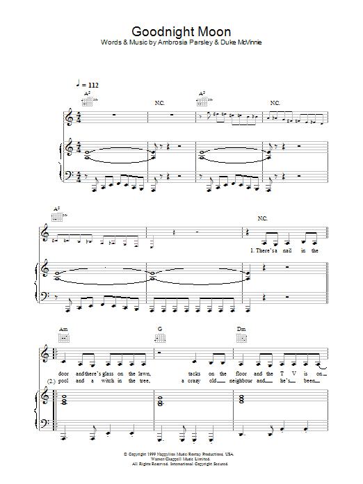 Goodnight Moon (from Kill Bill Vol. 2) Sheet Music