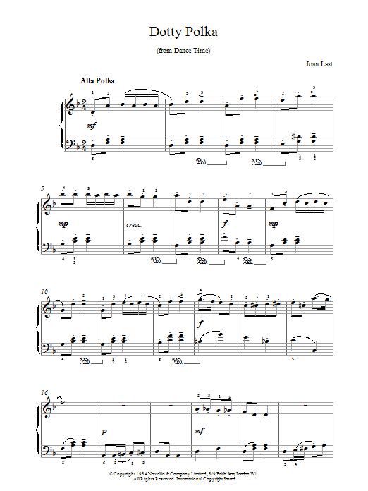 Dotty Polka Sheet Music