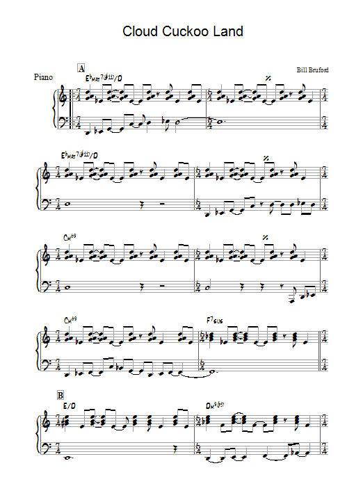 Cloud Cuckoo Land Sheet Music