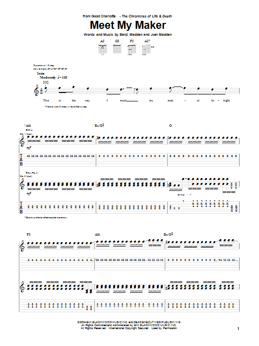 Meet My Maker Sheet Music