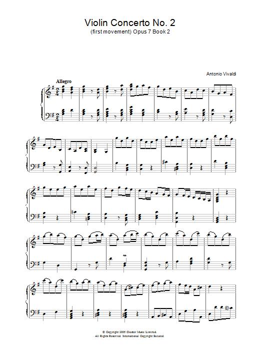 Allegro Op.7, Book 2 (Piano Solo)