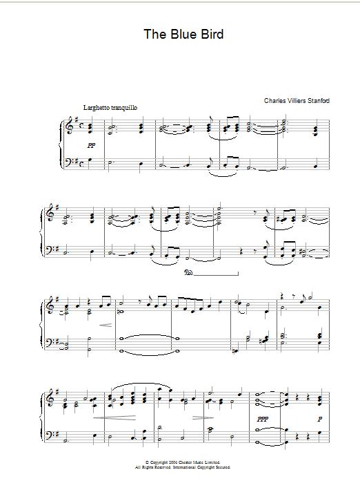 Blue Bird Sheet Music