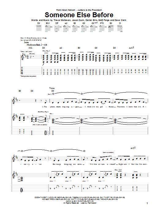 Someone Else Before Sheet Music