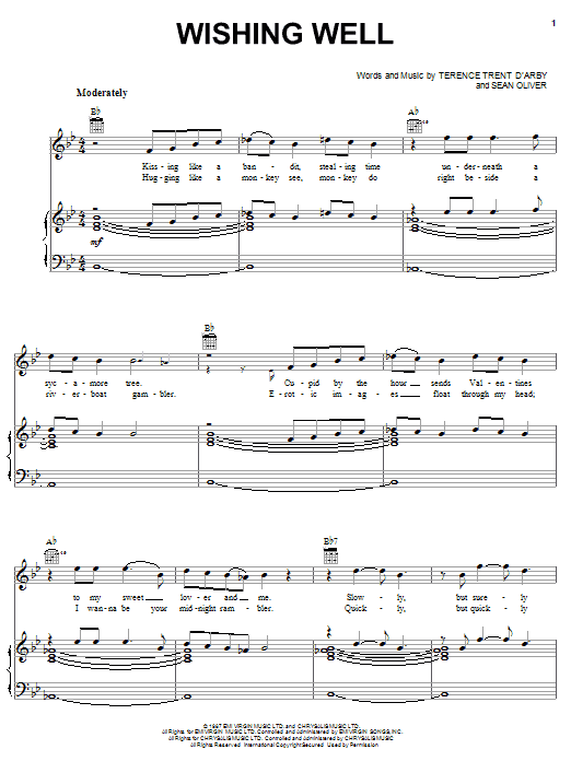 Wishing Well Sheet Music