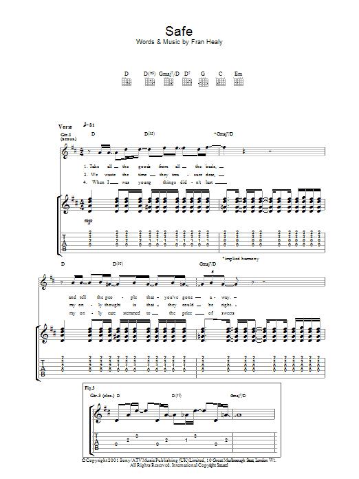 Safe (Guitar Tab)