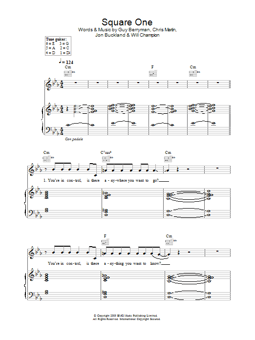 Square One Sheet Music