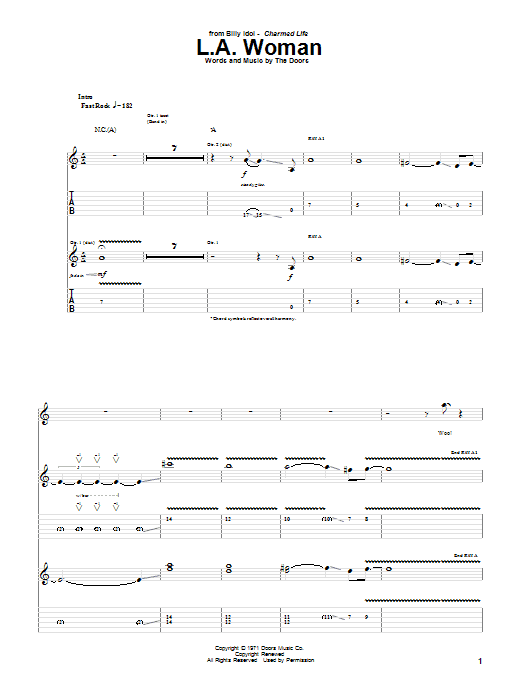 Modern La Woman Chords Gift - Beginner Guitar Piano Chords - zhpf.info