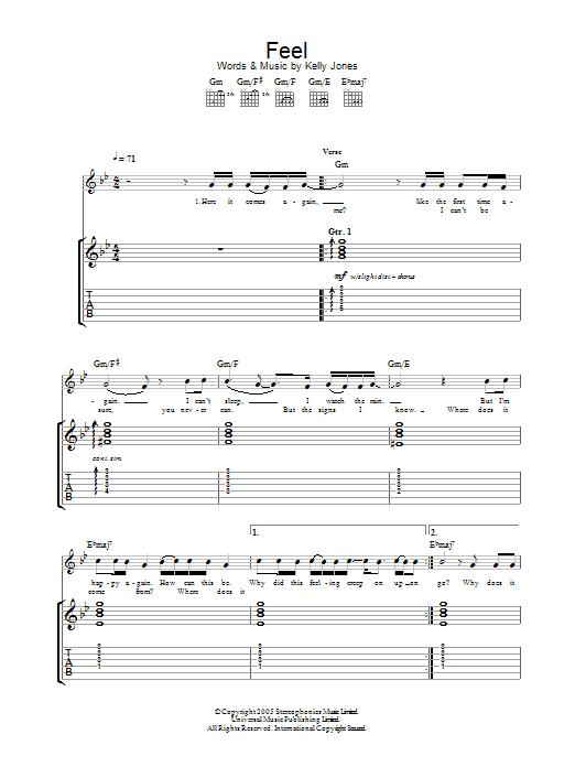 Feel (Guitar Tab)