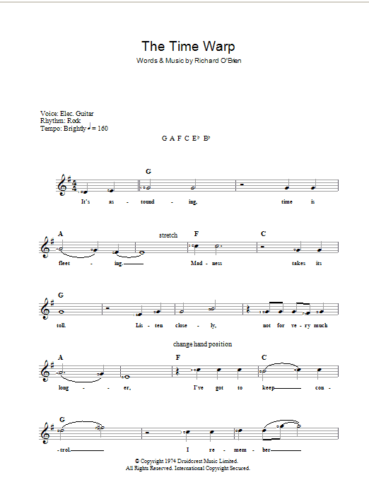 Sweet transvestite guitar tab