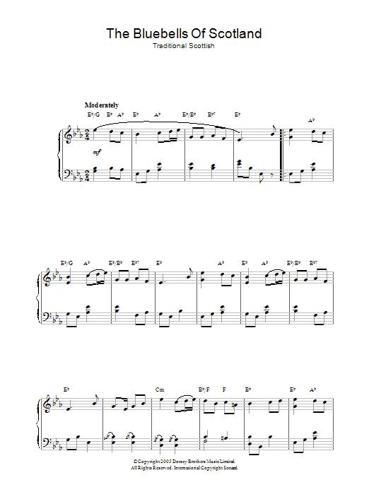 The Bluebells Of Scotland (Piano Solo)