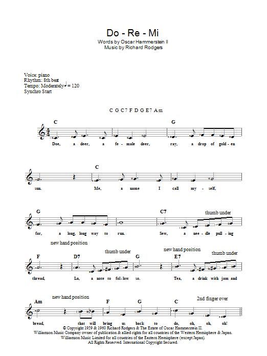 Do Re Mi Sheet Music Free Nurufunicaasl