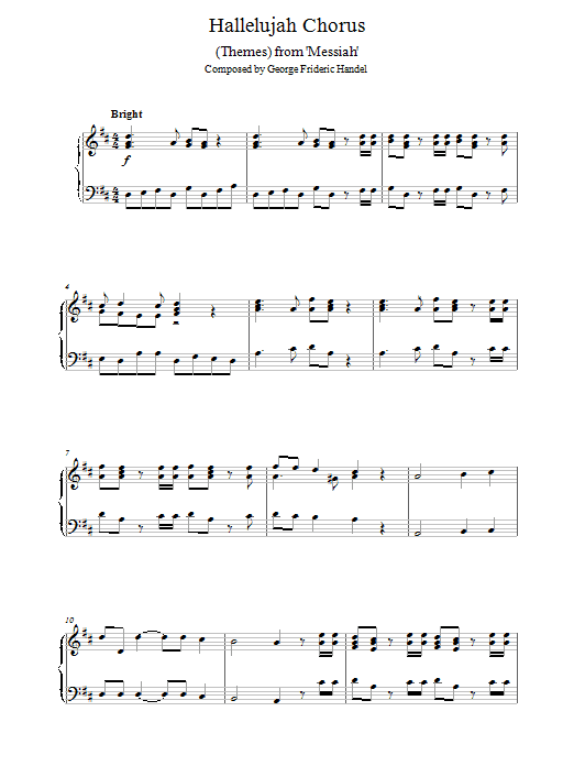 (Themes) from Messiah Sheet Music