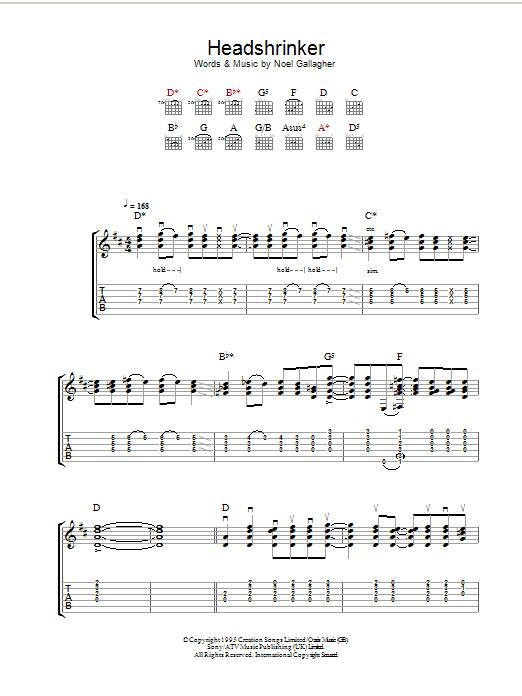 Headshrinker Sheet Music