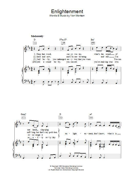 Enlightenment (Piano, Vocal & Guitar)