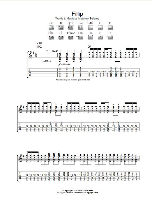 Fillip Sheet Music