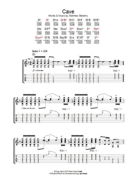 Cave Sheet Music