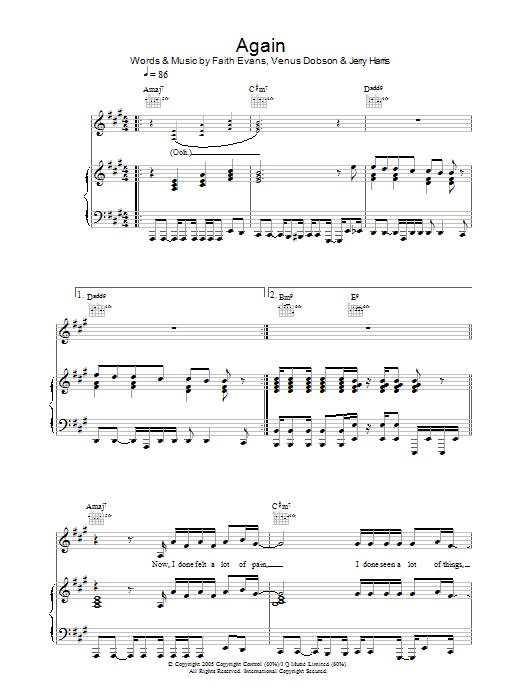 Again Sheet Music