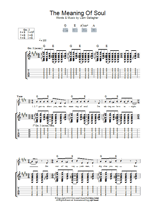 The Meaning Of Soul Sheet Music