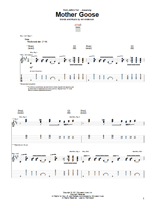 Mother Goose Sheet Music