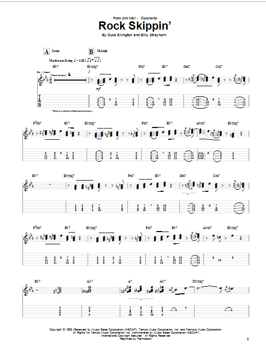 Rock Skippin' Sheet Music