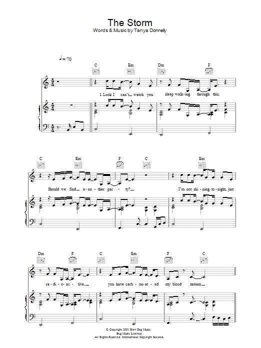 The Storm Sheet Music