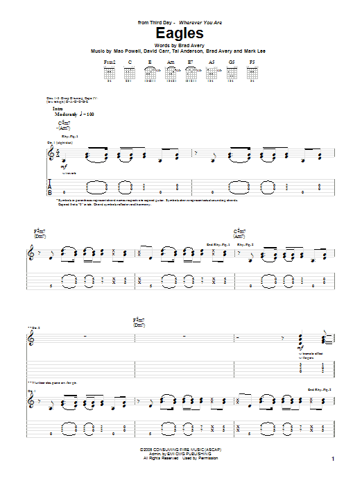 Eagles (Guitar Tab)