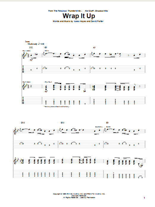 Wrap It Up Sheet Music