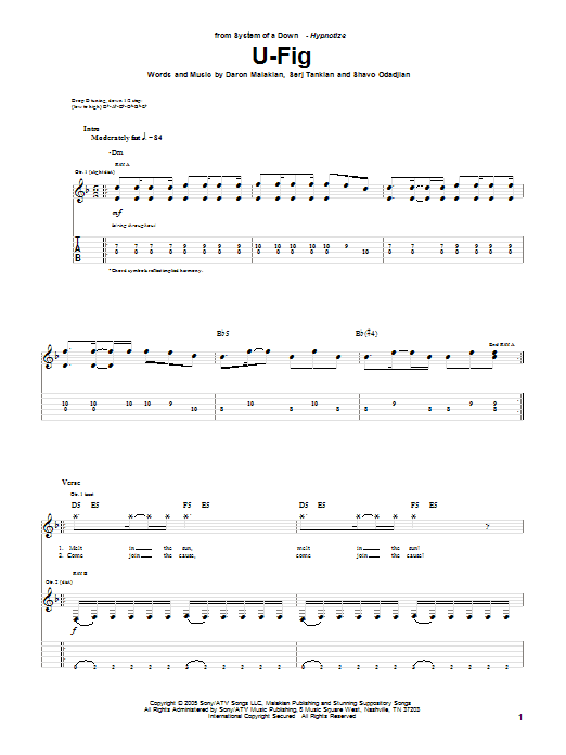U-Fig Sheet Music