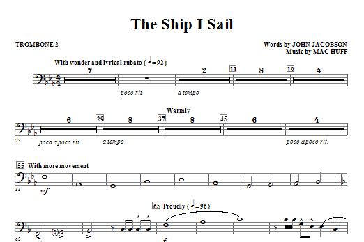 The Ship I Sail - Trombone 2 Sheet Music