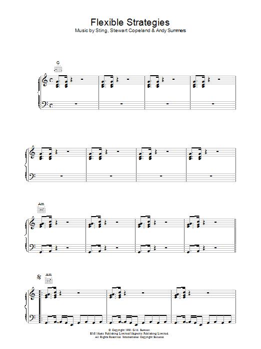 Flexible Strategies Sheet Music