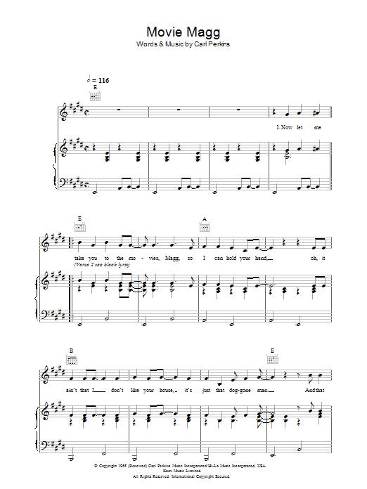 Movie Magg (Piano, Vocal & Guitar)