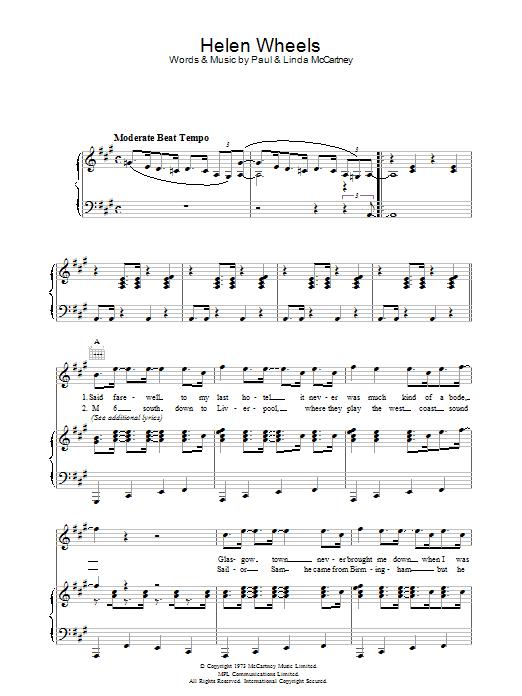 Helen Wheels (Piano, Vocal & Guitar)