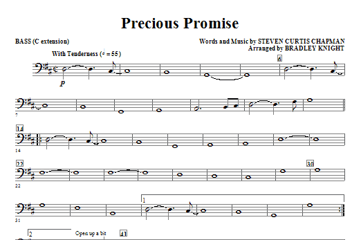Precious Promise - Bass (Choir Instrumental Pak)