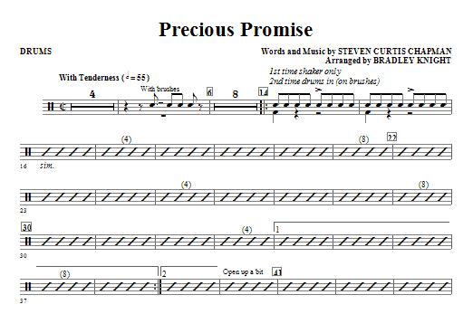 Precious Promise - Drums (Choir Instrumental Pak)
