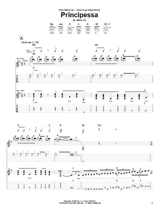 Principessa Sheet Music