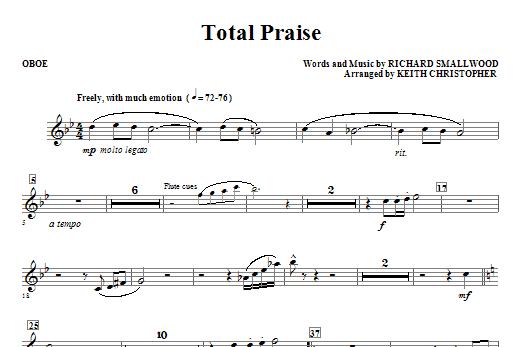 Total Praise - Oboe Sheet Music
