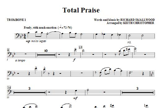 Total Praise - Trombone 1 Sheet Music