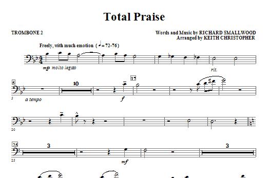 Total Praise - Trombone 2 Sheet Music