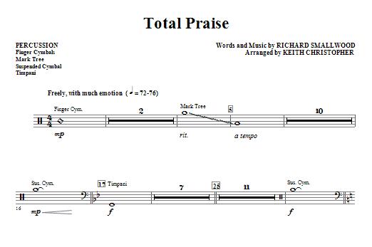 Total Praise - Percussion (Choir Instrumental Pak)