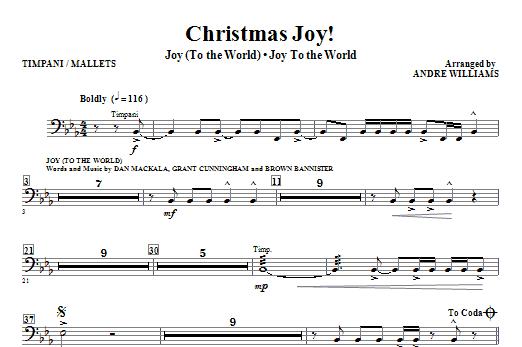 Christmas Joy! - Timpani and Mallet Percussion Sheet Music