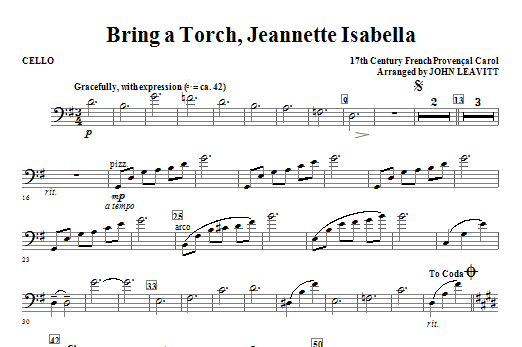 bring a torch jeanette isabella a clarinet 2 by 17th century french carol john