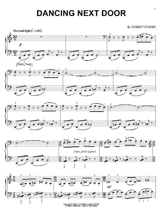 Dancing Next Door (Piano Solo)