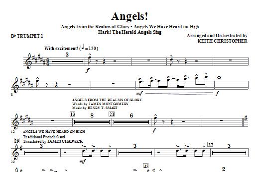 Angels! (Medley) - Bb Trumpet 1 Sheet Music