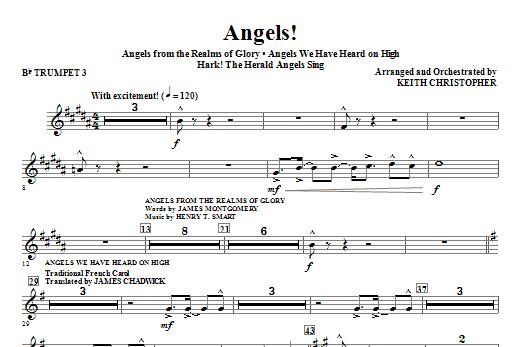 Angels! (Medley) - Bb Trumpet 3 Sheet Music