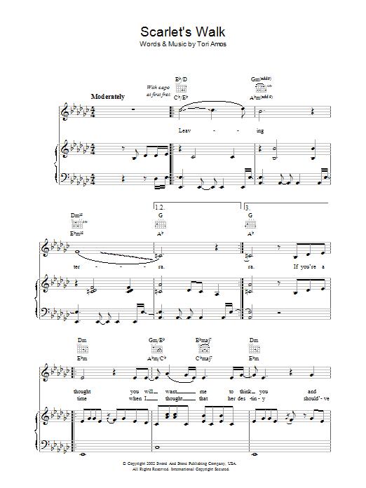 Scarlet's Walk Sheet Music