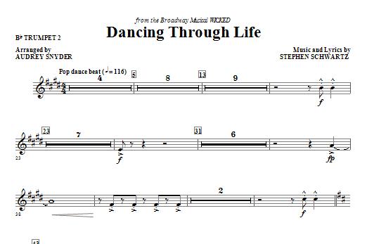 Dancing Through Life - Bb Trumpet 2 Sheet Music