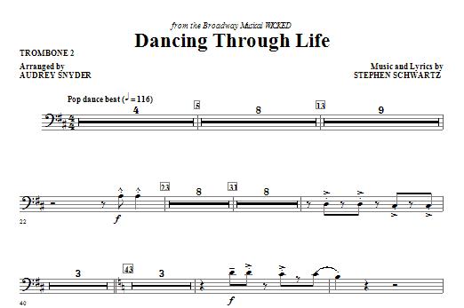 Dancing Through Life - Trombone 2 Sheet Music