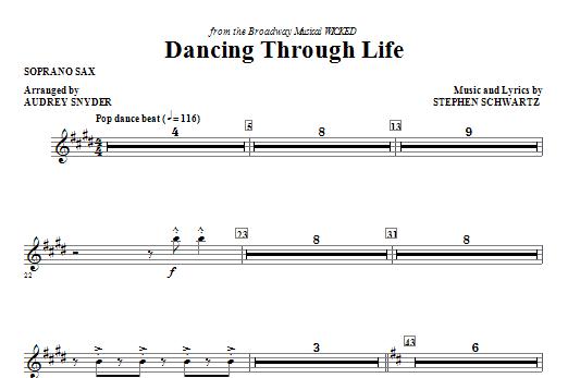 Dancing Through Life - Soprano Sax (Choir Instrumental Pak)
