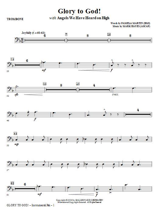 Glory to God! - Trombone (Choir Instrumental Pak)
