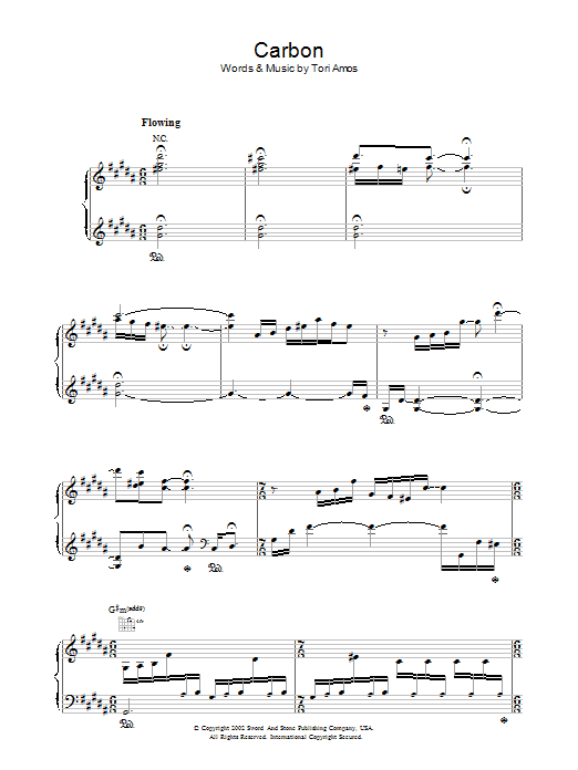Carbon Sheet Music